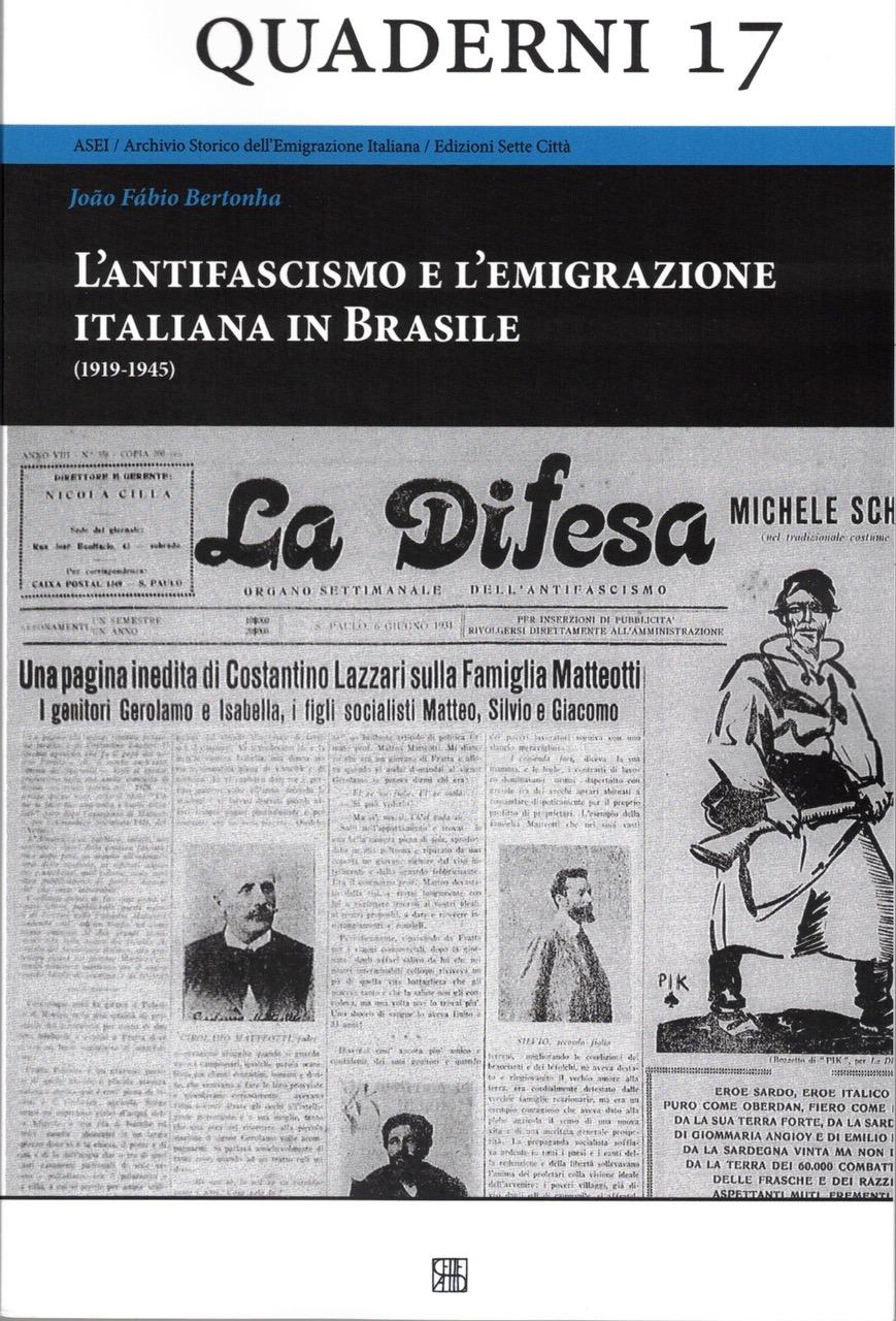 L'antifascismo e l'emigrazione italiana in Brasile
